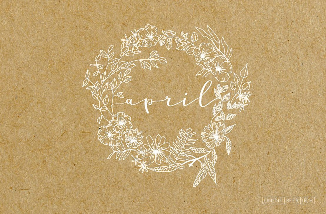 Wallpaper April Craft