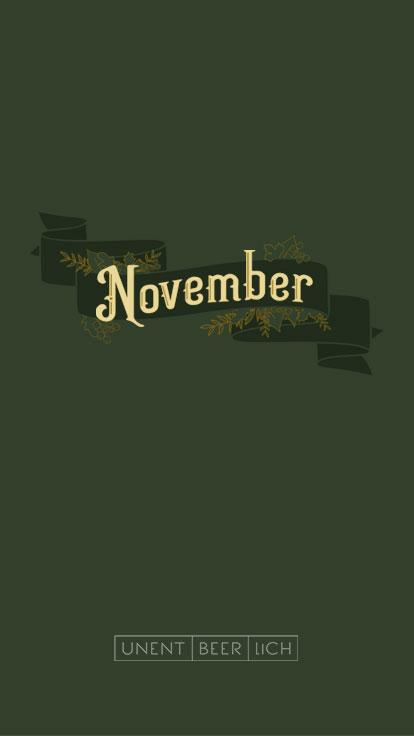 Handy Wallpaper November