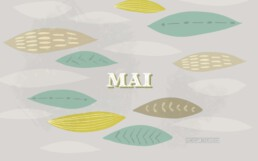 Wallpaper PC Mai 2019 Typografie Illustration