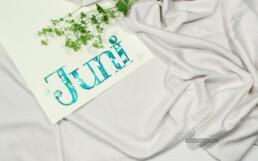 Wallpaper PC Juni 2019 Brushlettering Fotografie Aquarell glitzer