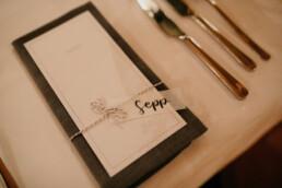 Hochzeit Papeterie Namenskärtchen Platzkarten