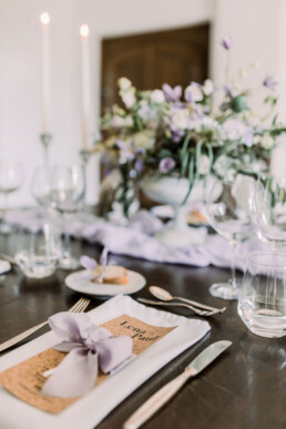 Styled Shoot Lilac Love Hochzeitspapeterie